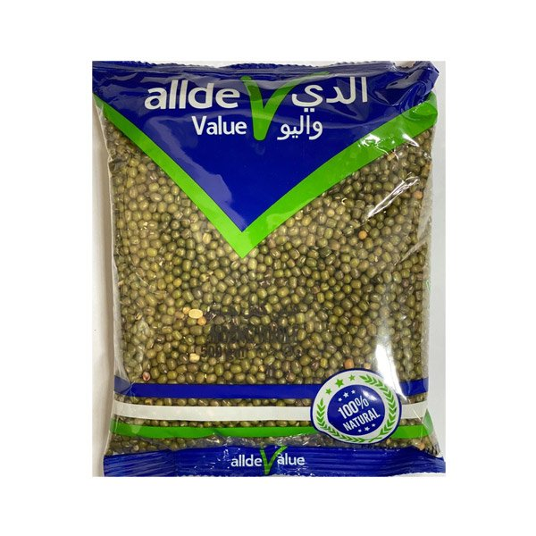 Alde Value Moong Whole 500gm