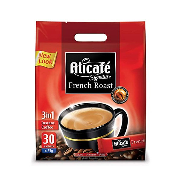 Alicafe Signature French Roast Instant Coffee 25g X Pack Of 35