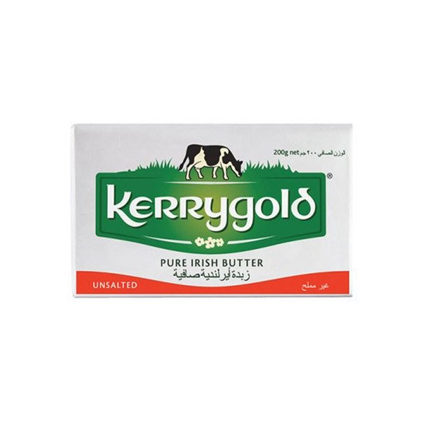 Kerrygold Pure Irish Unsalted Butter 200g