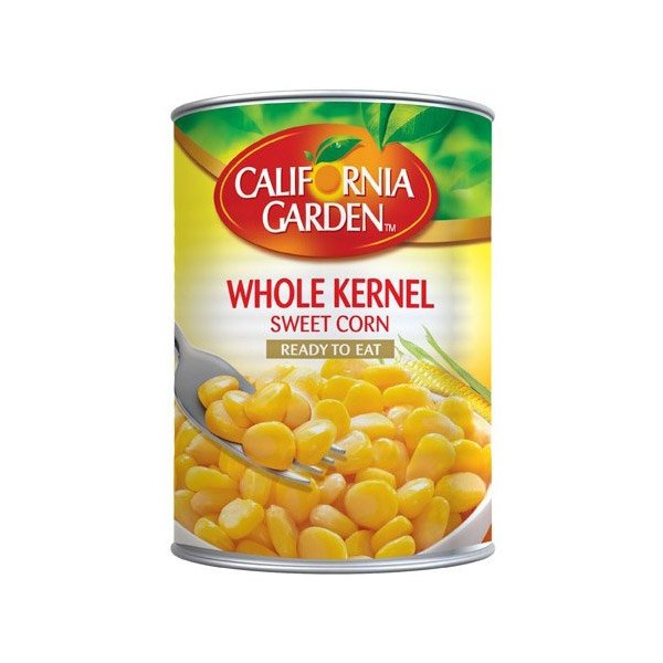 California Garden Whole Kernel Sweet Corn 425g