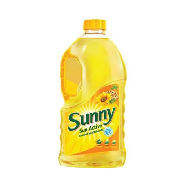 SUNNY SUN ACTIVE BLENDED VEGETABLE OIL 1.8LTR