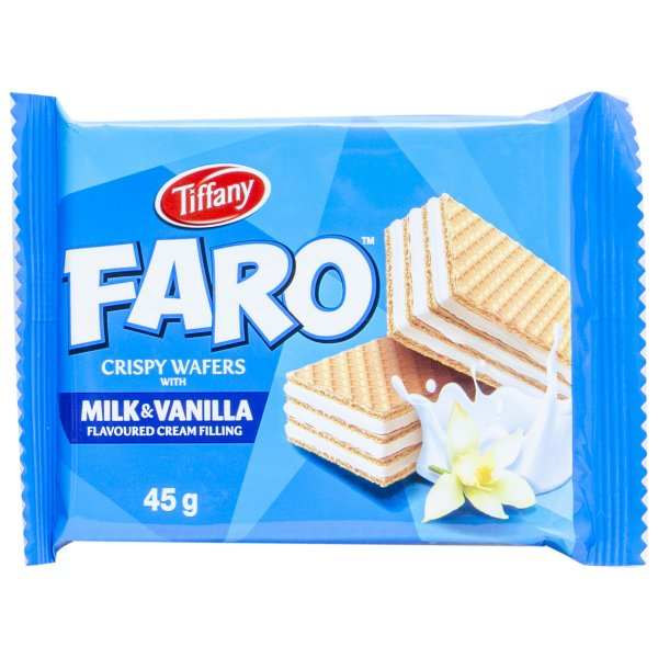 TIFFANY FARO MILK & VANILLA 45g