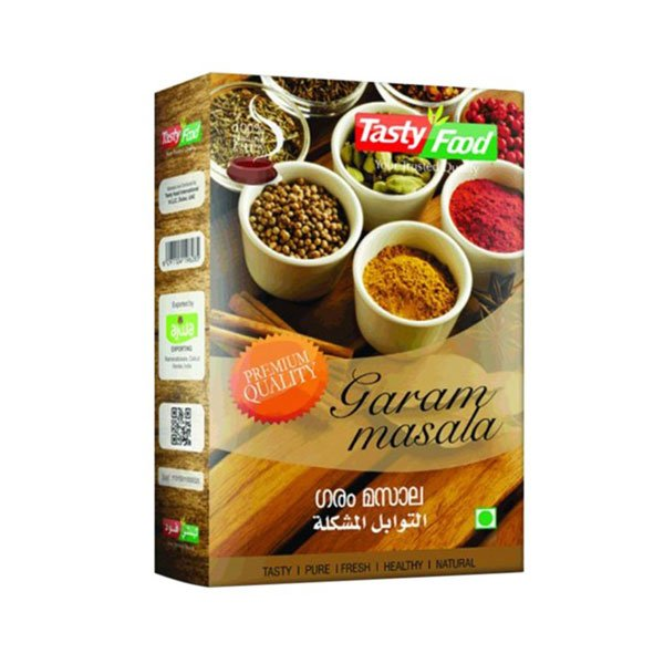 TASTY FOOD GARAM MASALA 100GM