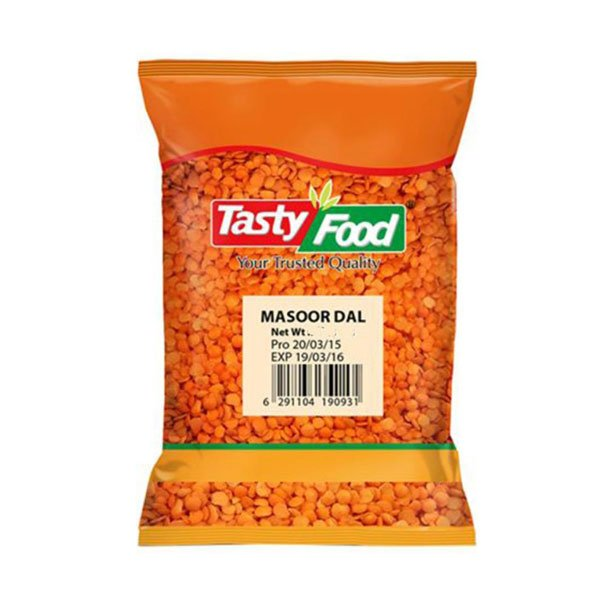 TASTY FOOD MASOOR DAL 500GM