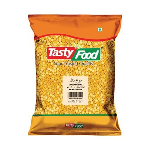 TASTY FOOD MOONG DAL 500GM