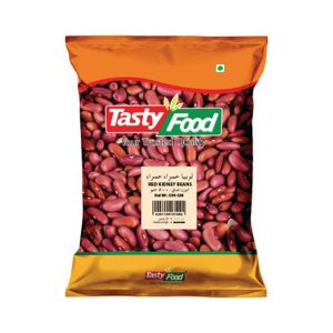 TASTY FOOD RED KIDNEY BEANS 500GM