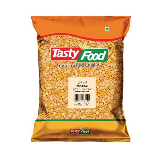 TASTY FOOD TOOR DAL 500GM
