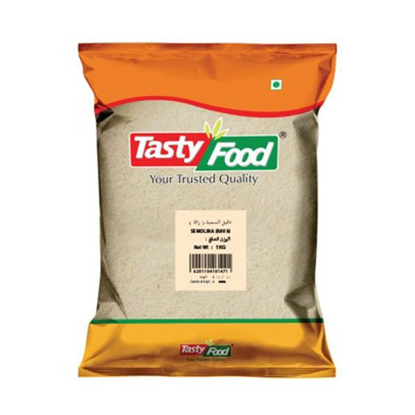 TASTY FOOD SEMOLINA (RAVA) 1KG