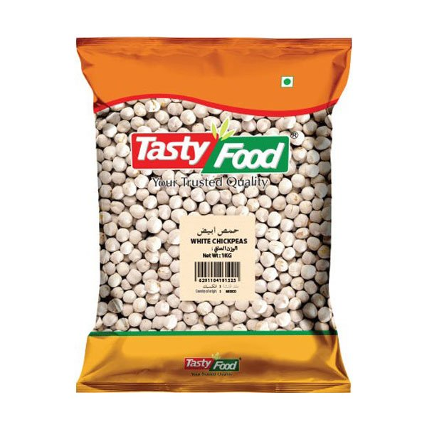 Tasty Food White Chickpeas 1kg