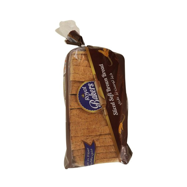 ROYAL BAKERS SLICED BROWN BREAD 300GM