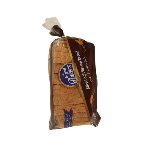 ROYAL BAKERS SLICED BROWN BREAD 600GM