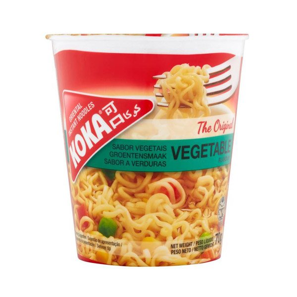 Koka Vegetable Noodles 70g