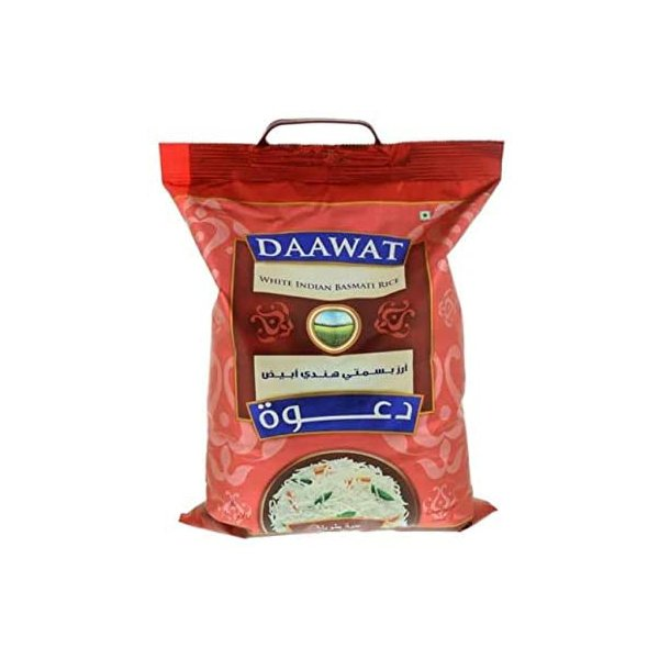 DAAWAT WHITE INDIAN BASMATI RICE 2kg