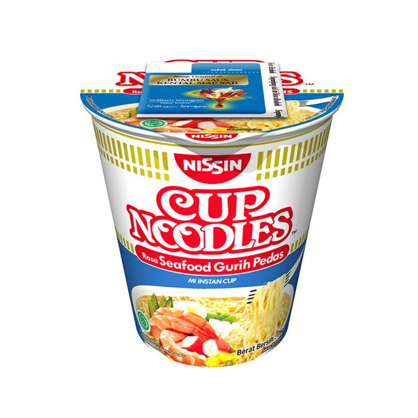 Nissin Spicy Seafood Noodles 75g