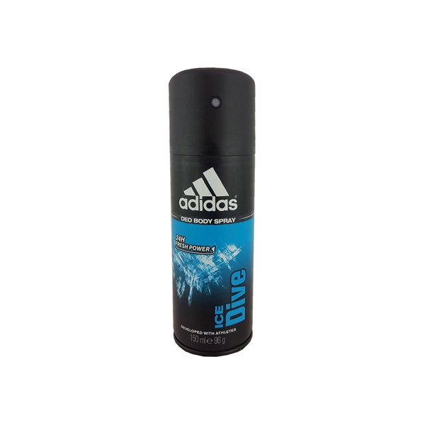 Addidas Ice Dive Deodorant Spray For Men 5 Oz