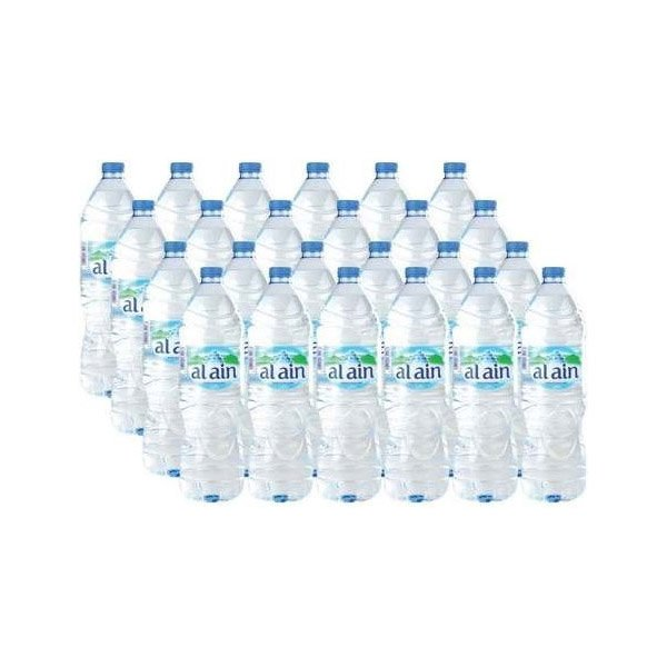 Al Ain Bottled Drinking Water 330ml X Pack Of 24