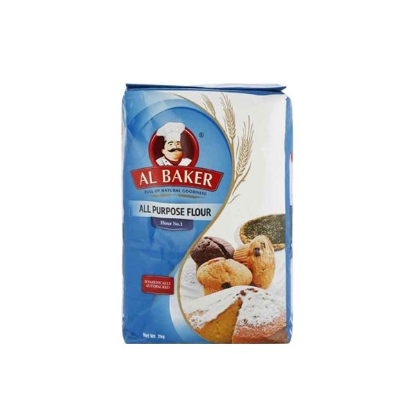 Al Baker All Purpose Flour 1 Kg