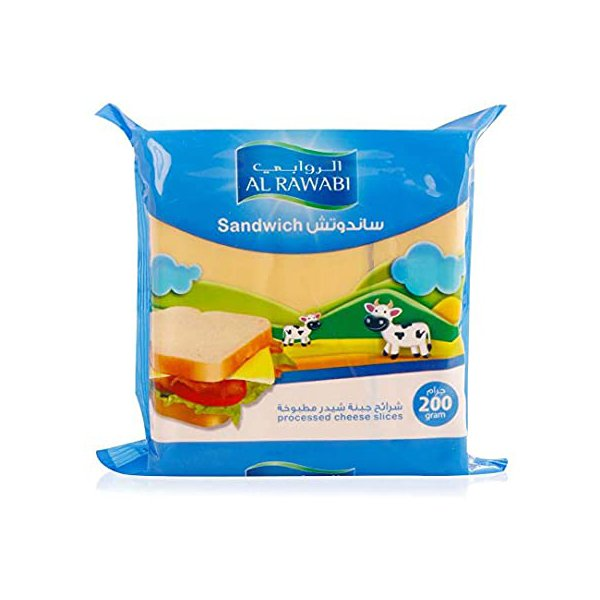 Al Rawabi Cheese Slices 200g
