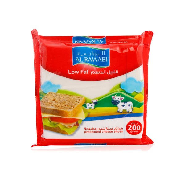 Al Rawabi Low Fat Slices 200gm