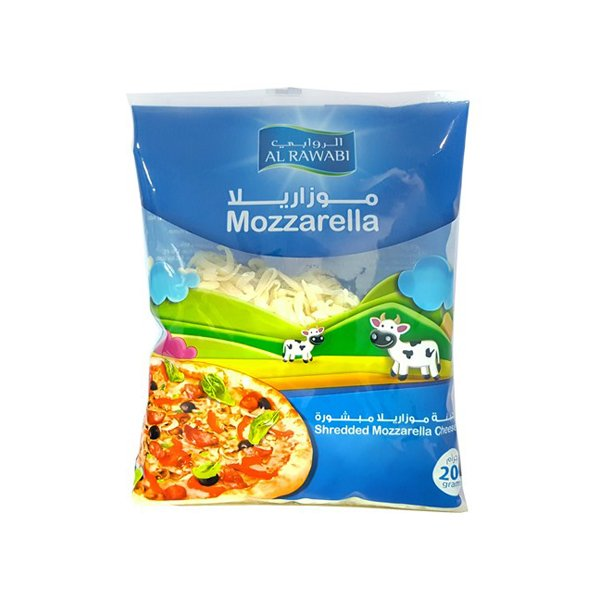 Al Rawabi Shred Mozzarella 200g