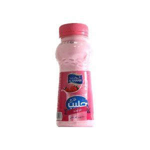 Al Rawabi Strawberry Milk 500ml