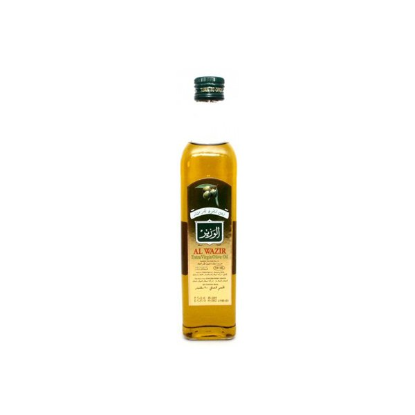 Al Wazir Extra Virgin Olive Oil Bottles 500 Ml