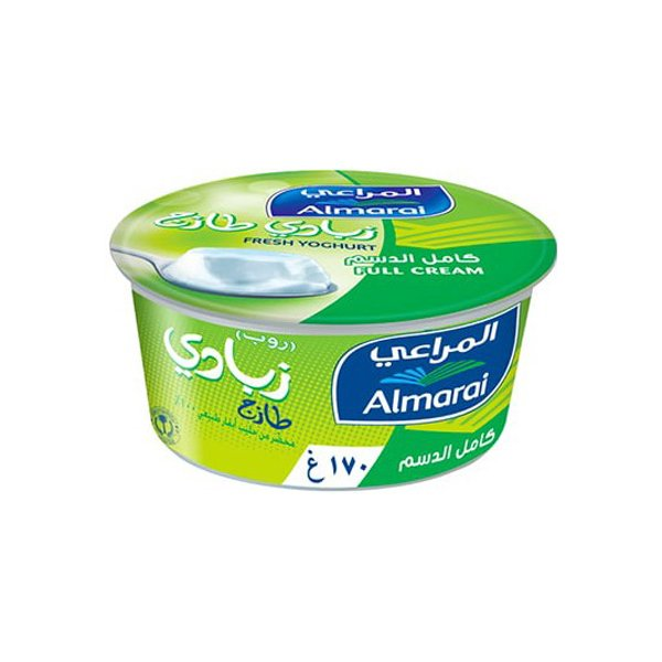 Almarai Plain Yoghurt Full Fat 170g