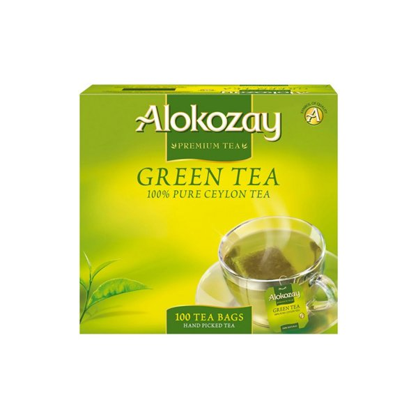 Alokozay Green Tea 200g Pack Of 100 Tea Bags