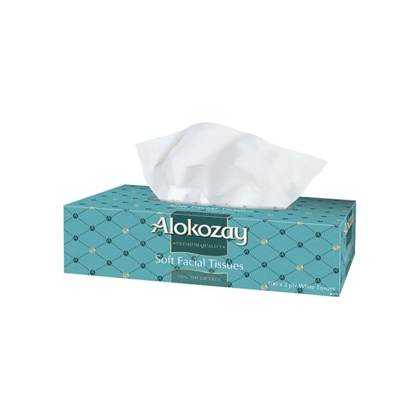 Alokozay Soft Facial Tissue 100s X 2ply