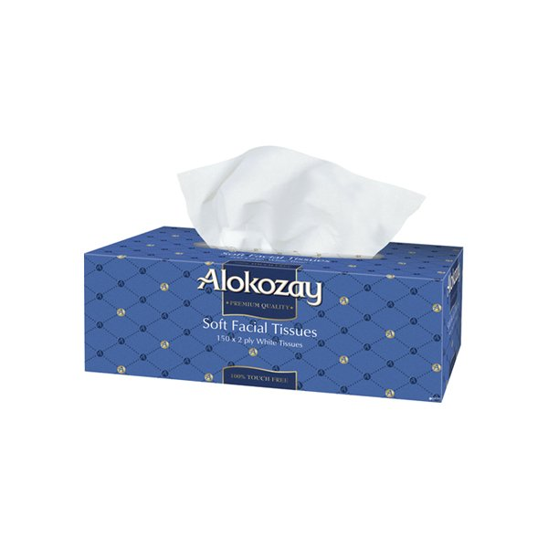 Alokozay Soft Facial Tissue 150s X 2ply