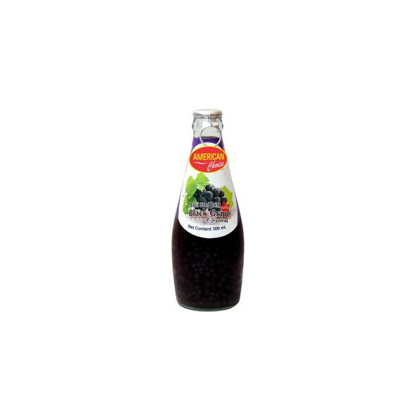 American Choice Basil Seed Black Grape Drink Mango 290ml