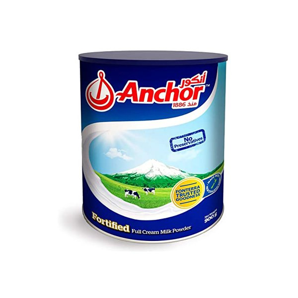Anchor Full Cream Milk Powder Pouch 900g