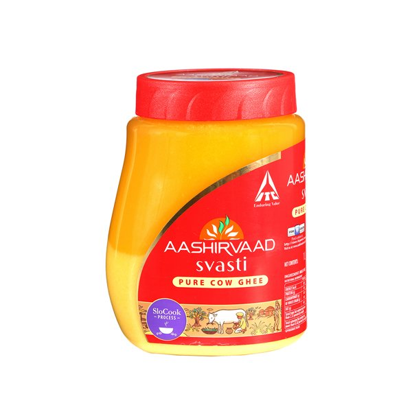 Ashirvaad Svasti Pure Cow Ghee 200ml