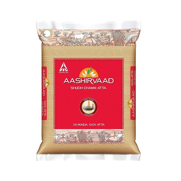 Ashirvad Whole Wheat Flour 5kg