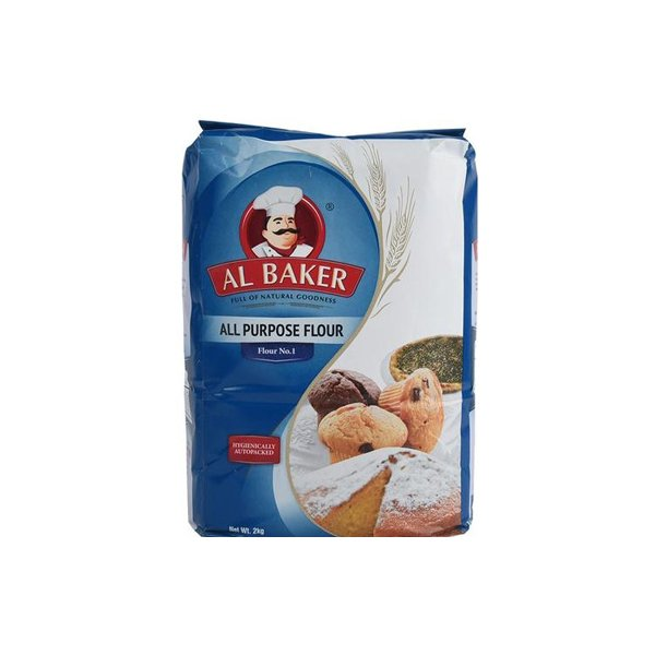 Atta Al Baker All Purpose Flour 2 Kg