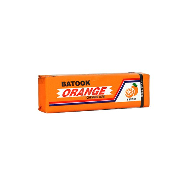 Batook Orange Chewing Gum 5 Sticks 12.5g