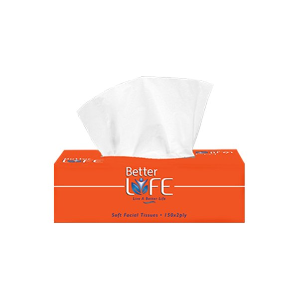 Better Life Tissue Box 2ply X 200 Sheets