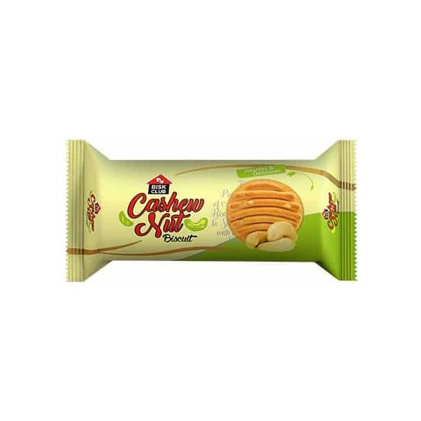 Bisk Club Cashew Nut Biscuits 100g