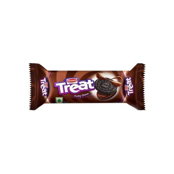 Britannia Treat Funky Choco Biscuits 64 Gm