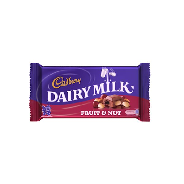 Cadbury Dairy Milk Fruit & Nut 100g