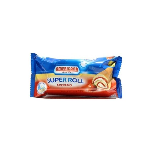 Americana Chocolate Roll 60g