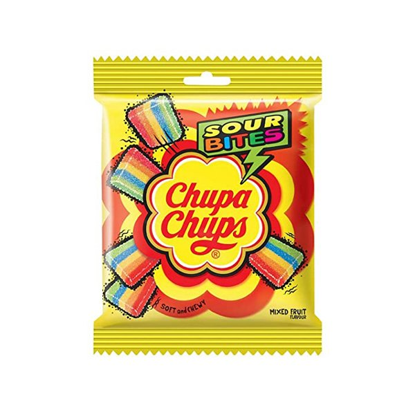 Chupa Chups Sour Belt Mixed Fruit