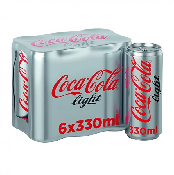 Coke Light 6 X 330ml