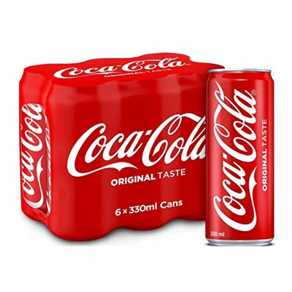Coca Cola Original 6 X 330ml