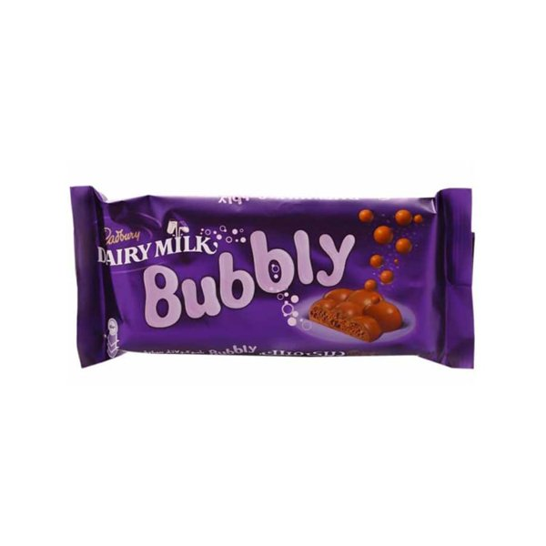 Dairy Milk Bubbly Chocolate 90g