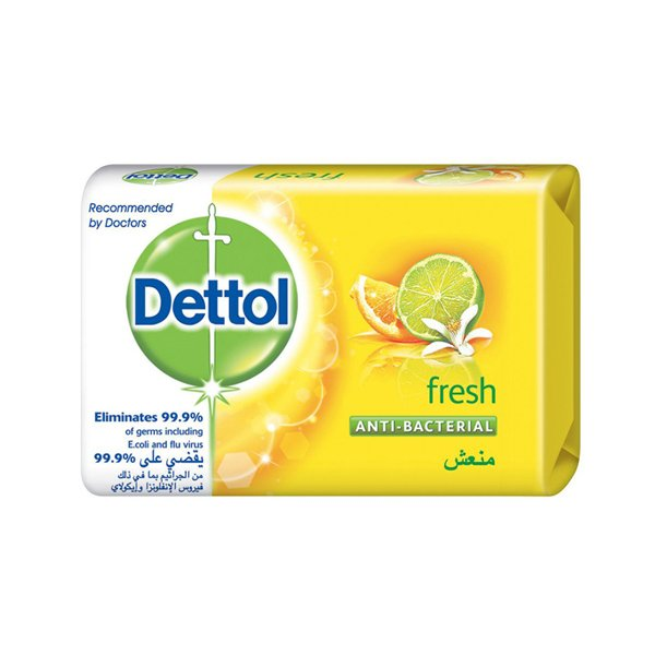 Dettol Bar Soap Fresh 120 G