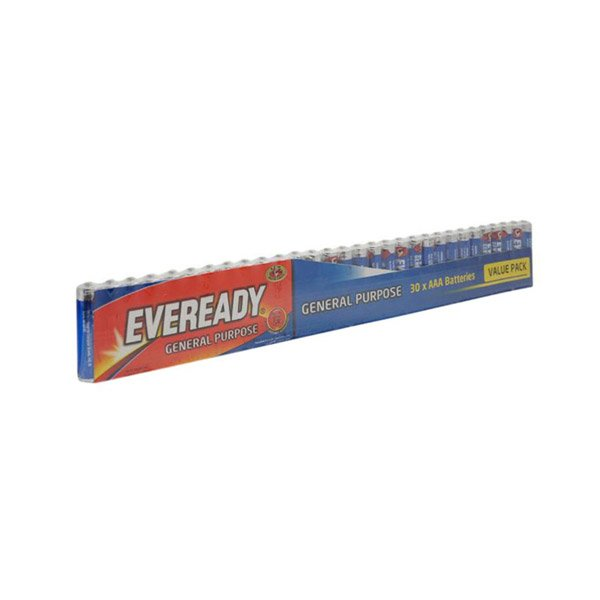 Eveready Battery 912 Blue 30pcs Aaa