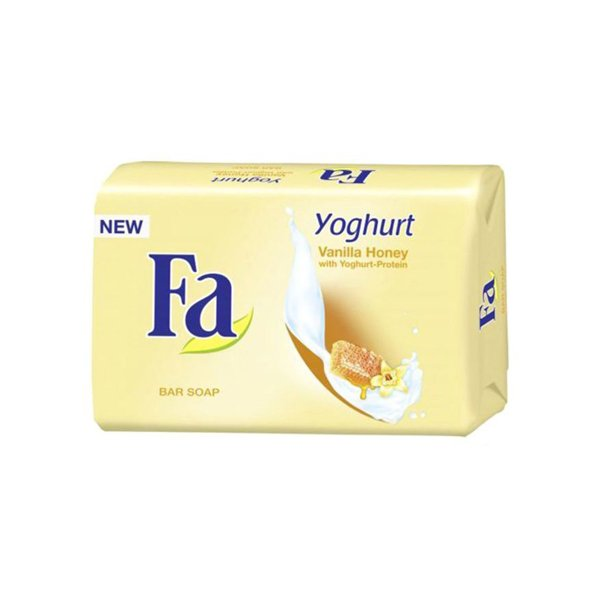 Fa Yoghurt Vanilla Honey With Yoghurt Protein Bar Soap 125g