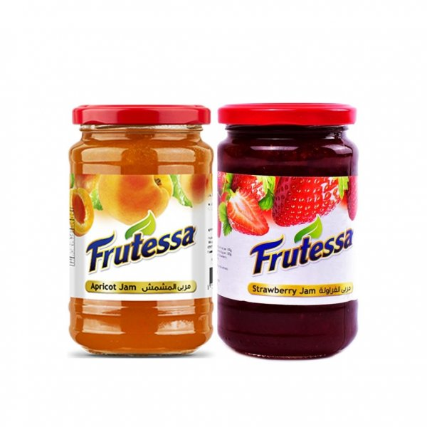 Frutessa Jam Assorted 450g X 2pcs