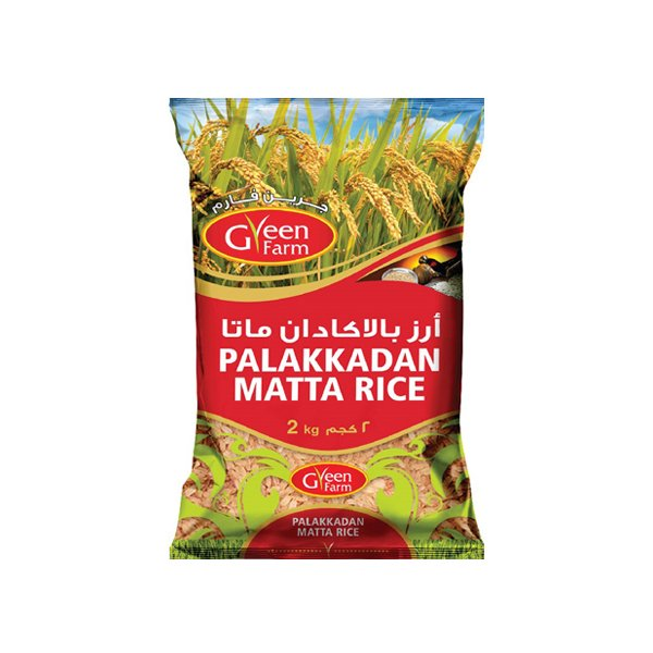 Green Farm Palakkadan Matta Rice 1kg